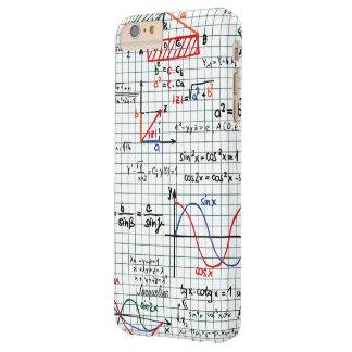 Números de fórmulas de la matemáticas funda barely there iPhone 6 plus