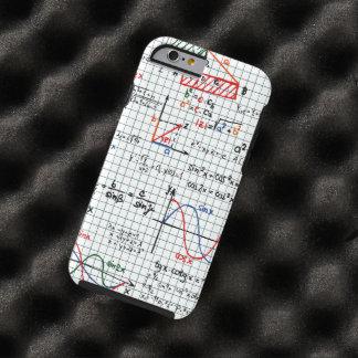 Números de fórmulas de la matemáticas funda de iPhone 6 tough