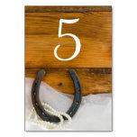 Números de la tabla de la herradura y del boda del