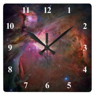 Números del blanco de la nebulosa de Orión Relojes