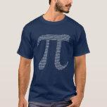 Números del fractal del pi playera