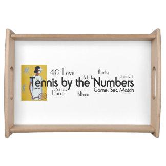 Números SUPERIORES del tenis Bandeja