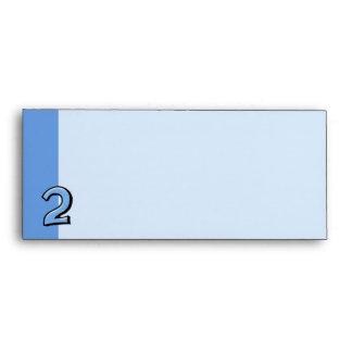 Números tontos 2 sobres azules