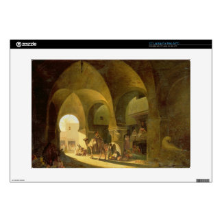 """Numerous Figures in a North African Bazaar, 1839 ( Skin For 15"""" Laptop"""