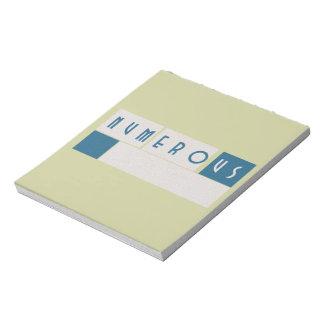 Numerous Notepad