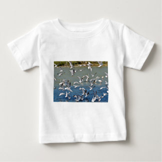 Numerous seagulls flying t-shirt