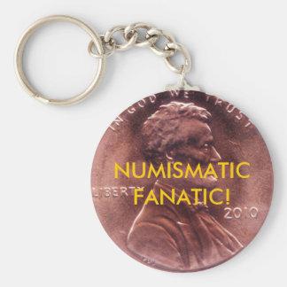 NUMISMATIC FANATIC! Key Chani Keychain
