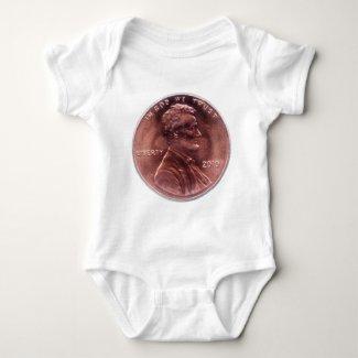 Numismatic Gift Baby Bodysuit