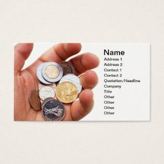 Numismatics Business Card