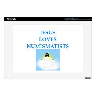 """numismatist skins for 15"""" laptops"""