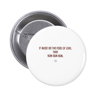 Nummy Shakespeare Pin