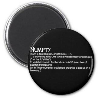 Numpty 2 Inch Round Magnet