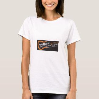 NuMusic247.com Merchandise / Black Logo T-Shirt