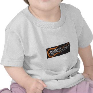 NuMusic247.com Merchandise / Black Logo T-shirts