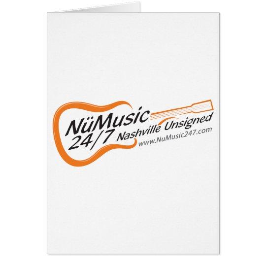NuMusic247.com Merchandise Card