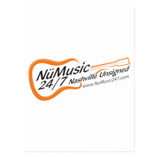 NuMusic247.com Merchandise Postcard
