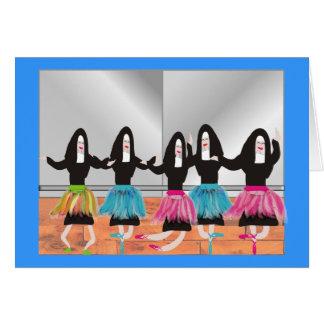Nun Ballerina Gifts Card