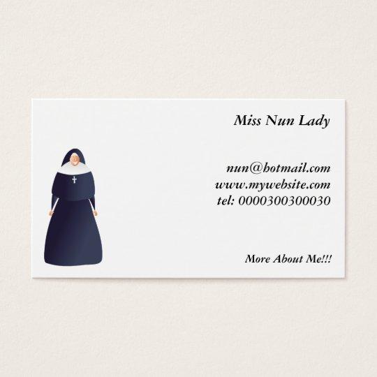 Nun Business Card