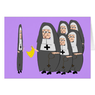 """Nun Cards """"The Fat Sisters"""""""