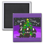Nun Christmas Cards and Gifts Refrigerator Magnet