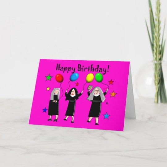 Nun happy birthday cards gifts zazzle nun happy birthday cards gifts m4hsunfo