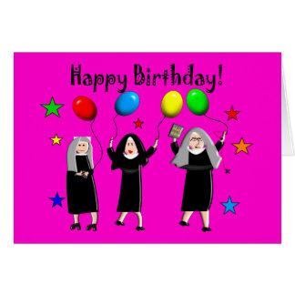 Nun Happy Birthday Cards & Gifts