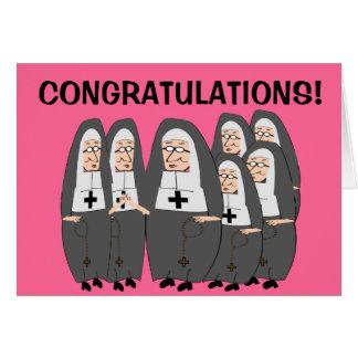 Nun Jubilee Cards