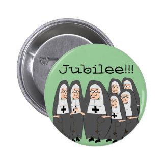 Nun Jubilee Cards Pinback Button