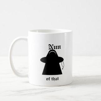 Nun of that Catholic humor Meeple mug
