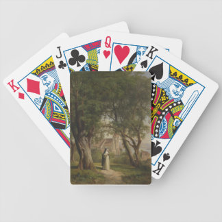 NUN SO BEAUTIFUL BICYCLE PLAYING CARDS