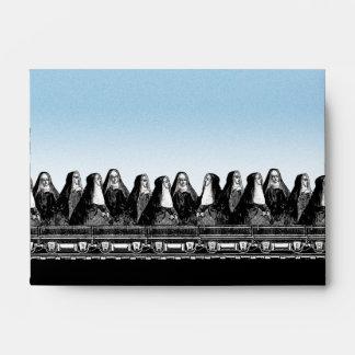Nun Train Envelopes