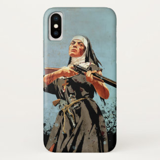 Nun with a rifle iPhone x case