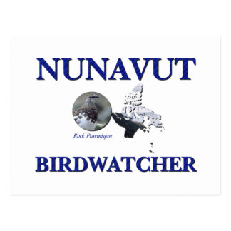 Nunavut Birdwatcher Postcard
