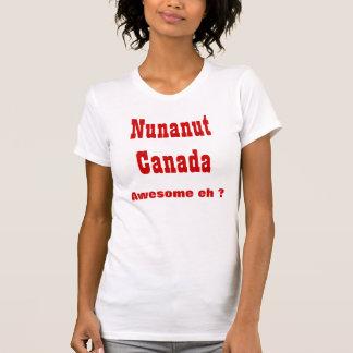 Nunavut Canada Tee Shirt