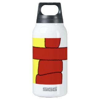 Nunavut Flag Insulated Water Bottle
