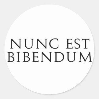 Nunc Est Bibendum Sticker