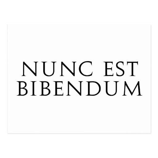 Nunc Est Bibendum Tarjeta Postal