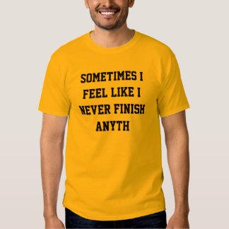 Nunca acabe el anyth camisas