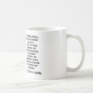 Nunca arquee a la capilla de la cita de Jefferson Taza Clásica