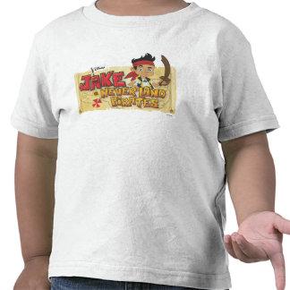 Nunca aterrice a los piratas camiseta