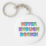 Nunca bastantes camisetas y regalos de los libros llaveros