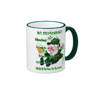 ¡Nunca beben a un irlandés! Taza