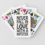Nunca caiga en amor con un inconformista barajas de cartas