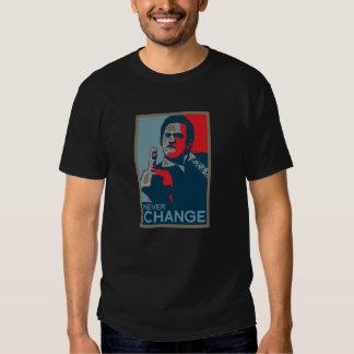Nunca cambie remera