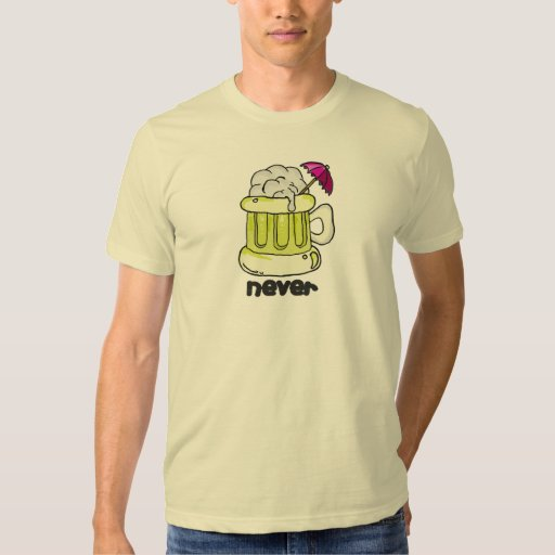¡nunca! camisas