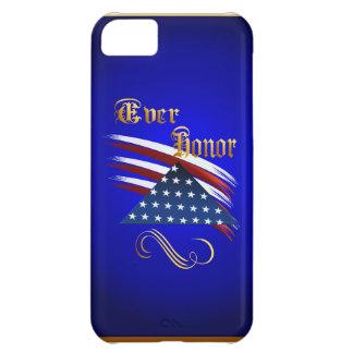 Nunca caso del iPhone 5 del honor Funda Para iPhone 5C