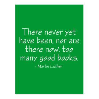 Nunca con todo ha habido demasiados buenos libros