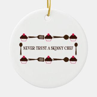 Nunca confíe en a un cocinero flaco