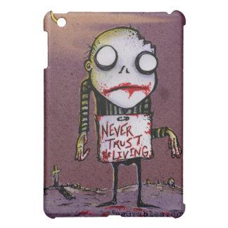 Nunca confíe en el caso vivo del iPad del zombi po