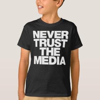 Nunca confíe en la camisa de los medios